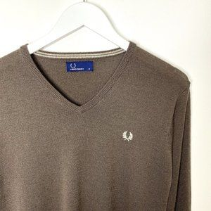 Fred Perry Brown Sweater/Jumper